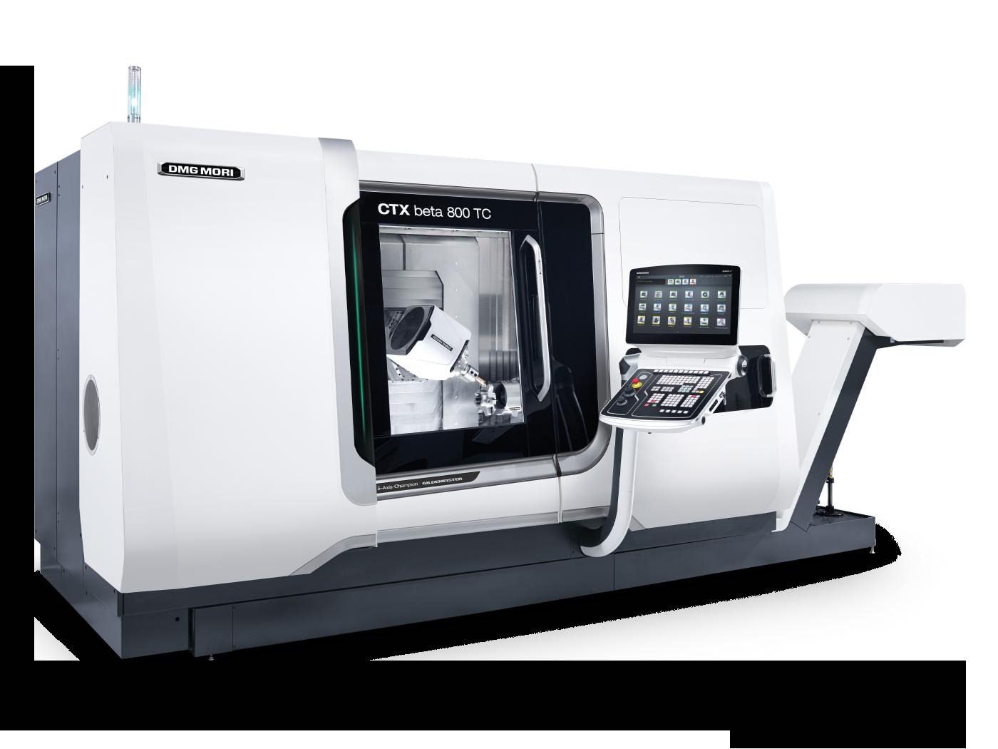 CTX beta 800 TC - Turn & Mill by DMG MORI