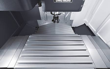 NVX 5080 2nd Generation - Vertical Milling by DMG MORI